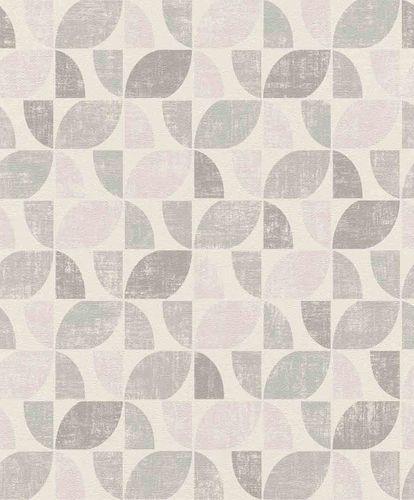 Non-Woven Wallpaper Graphic Vintage white pink 519815 online kaufen