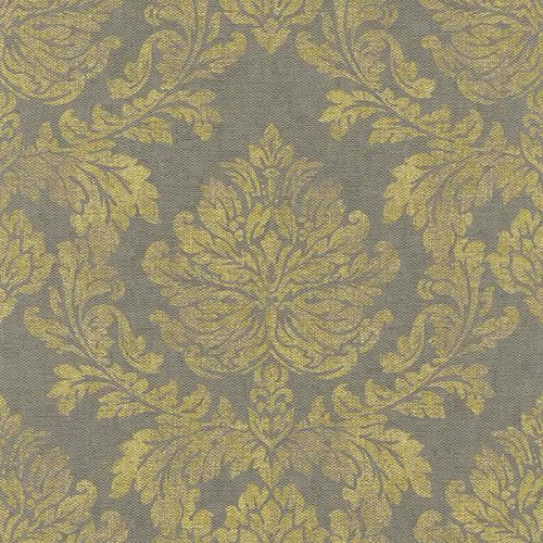 Non-Woven Wallpaper Baroque grey yellow Rasch 802672 online kaufen