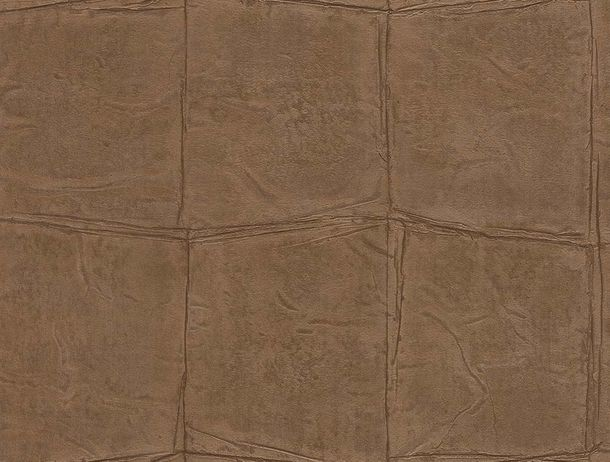 Non-Woven Wallpaper Stone Design red-brown Gloss Rasch 806342 online kaufen