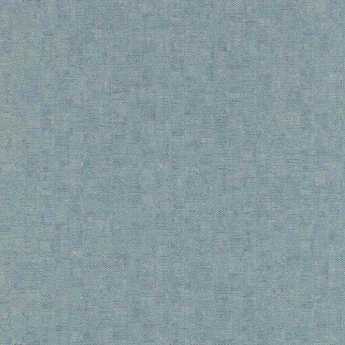 Non-Woven Wallpaper Plain Textile turquoise Rasch 802948