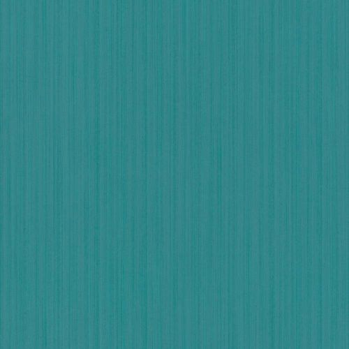 Wallpaper Stripes Ingrain turquoise Gloss Rasch Textil 289380