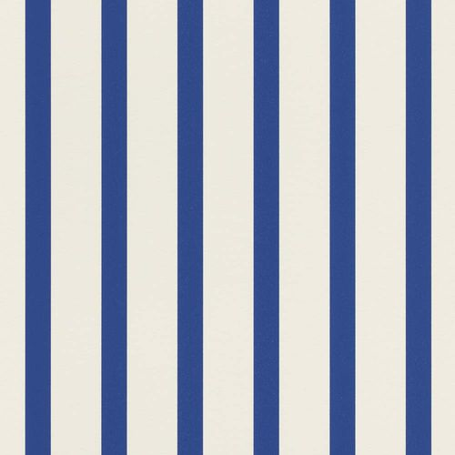 Wallpaper Striped Pattern white blue Rasch Textil 289717