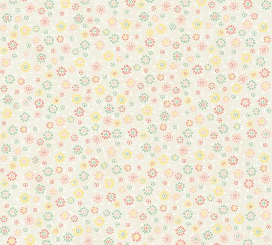 Non-Woven Wallpaper Flowers beige colours livingwalls 36292-2 online kaufen