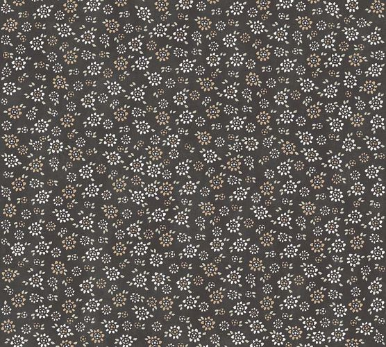 Non-Woven Wallpaper Flowers black colours livingwalls 36292-4 online kaufen