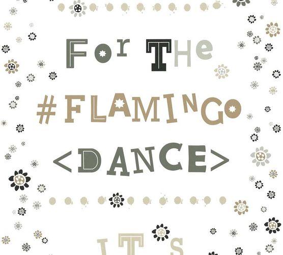 Vliestapete Flamingo Dance weiß livingwalls Cozz 36293-4 online kaufen