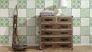 Produktbild Vliestapete Kacheloptik weiß beige grün livingwalls Cozz 36296-3 4