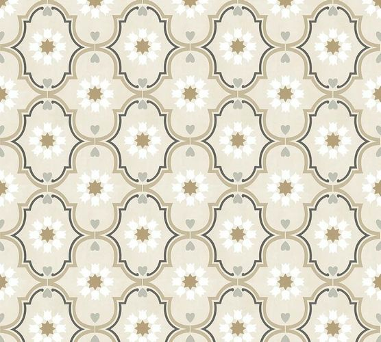 Non-Woven Wallpaper Ornaments beige brown livingwalls 36297-1 online kaufen