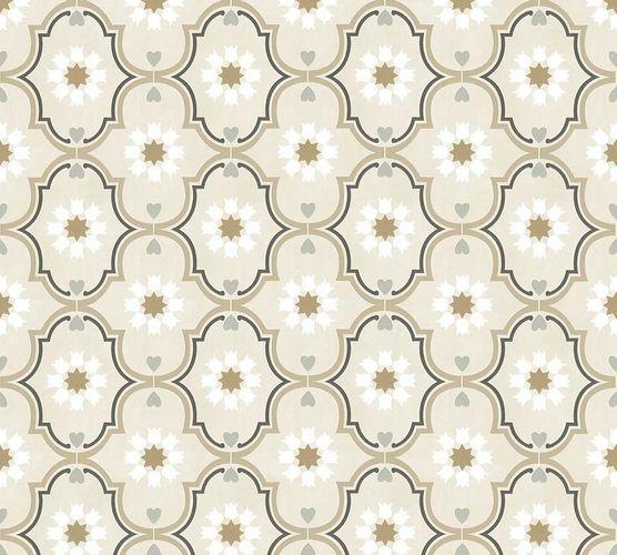 Vliestapete Ornament beige braun livingwalls Cozz 36297-1 online kaufen