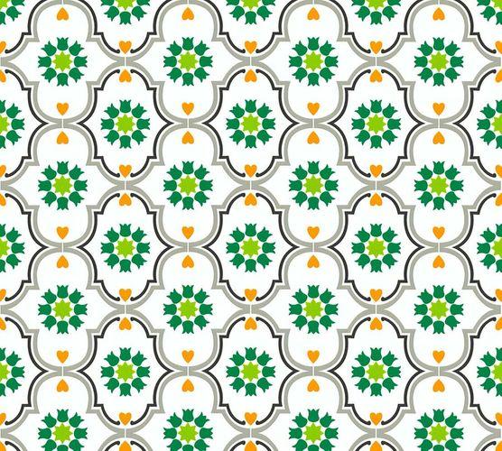 Vliestapete Ornament weiß bunt livingwalls Cozz 36297-3 online kaufen