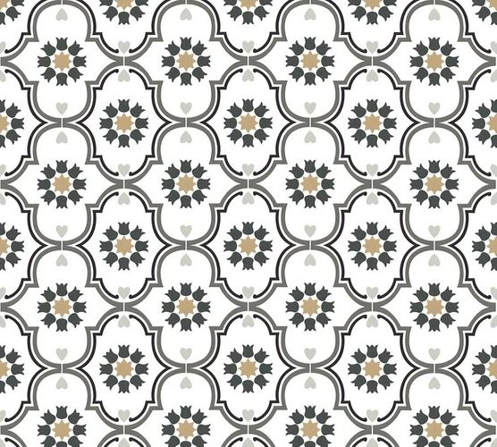 Non-Woven Wallpaper Ornaments white grey livingwalls 36297-4 online kaufen
