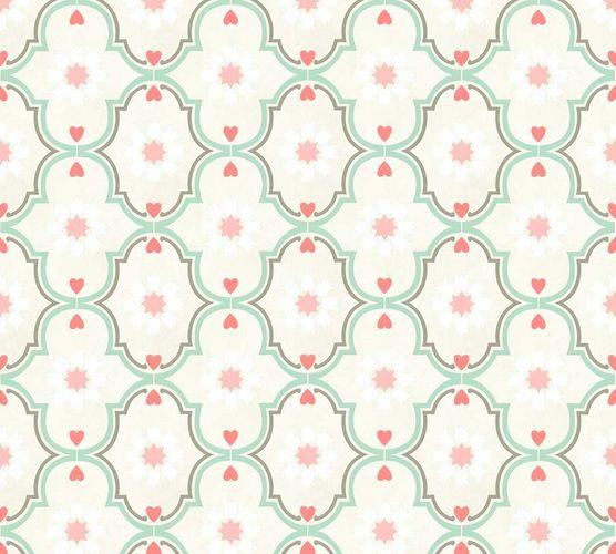 Non-Woven Wallpaper Ornaments beige pink livingwalls 36297-5 online kaufen