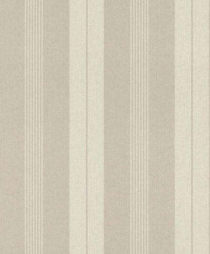 Non-Woven Wallpaper Stripes cream Rasch Textil 096301 online kaufen