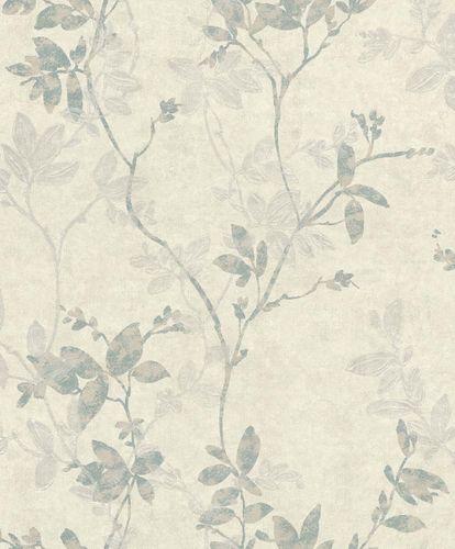 Non-Woven Wallpaper Leaves Branches cream Rasch Textil 096714 online kaufen