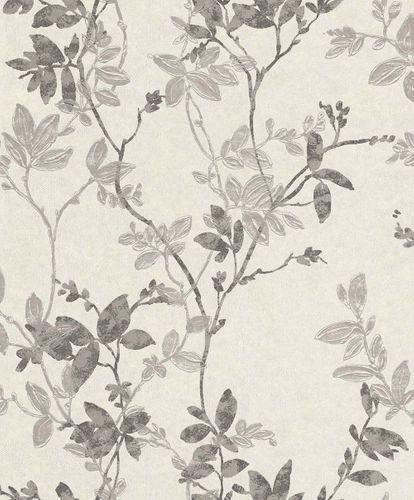 Non-Woven Wallpaper Leaves cream-white Rasch Textil 196711 online kaufen