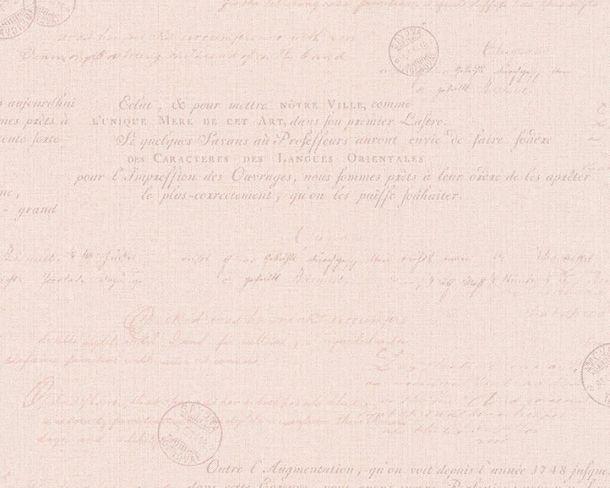Non-Woven Wallpaper Font pink red livingwalls 36382-1 online kaufen