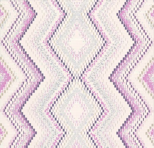 Wallpaper Guido Maria Kretschmer ethno cream purple 02545-10 online kaufen