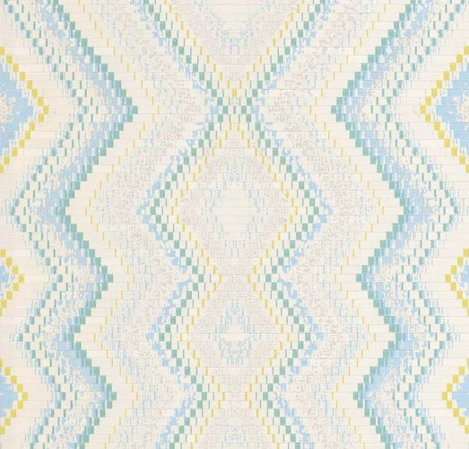 Wallpaper Guido Maria Kretschmer ethno cream blue 02545-30 online kaufen