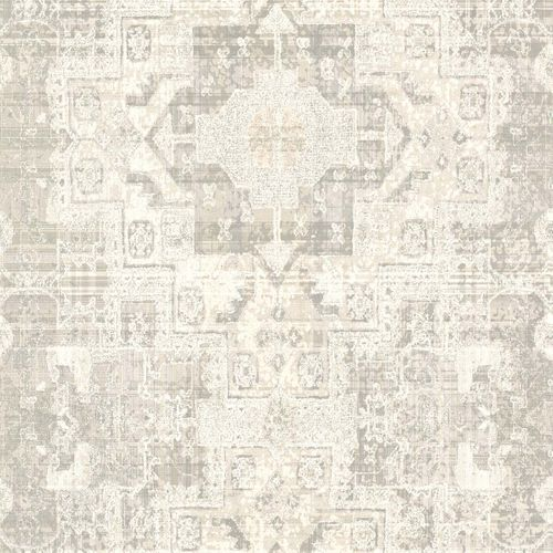 Non-Woven Wallpaper Boho Retro grey cream 148654 online kaufen