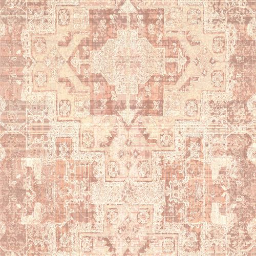 Vliestapete Boho Vintage apricot World Wide Walls 148656