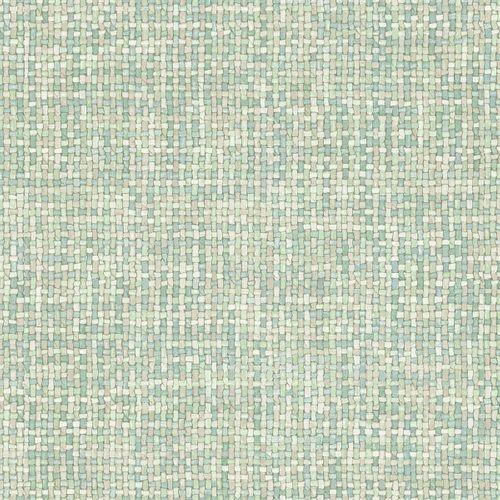 Vliestapete Geflecht Vintage türkis beige 148662 online kaufen