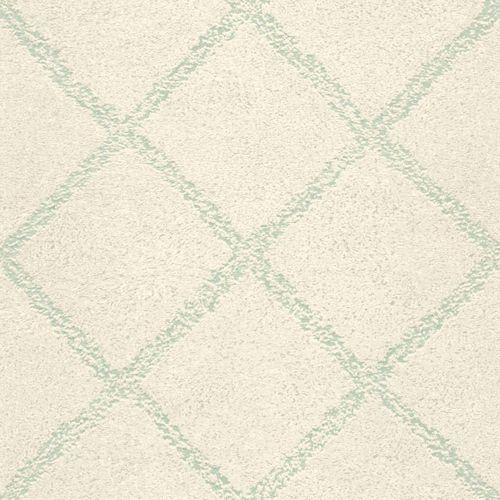 Non-Woven Wallpaper Grid Retro turqoise 148665 online kaufen