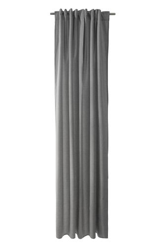 Loop Curtain Drape Structure Max non-transparent grey 5070-09