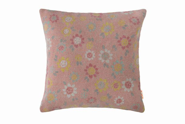 Pillow Case Deco Cozz Flowers Chiffa rose 45x45cm 5060-19 online kaufen