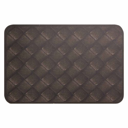 Placemats Dinner Serving Set Leather-Design | washable online kaufen