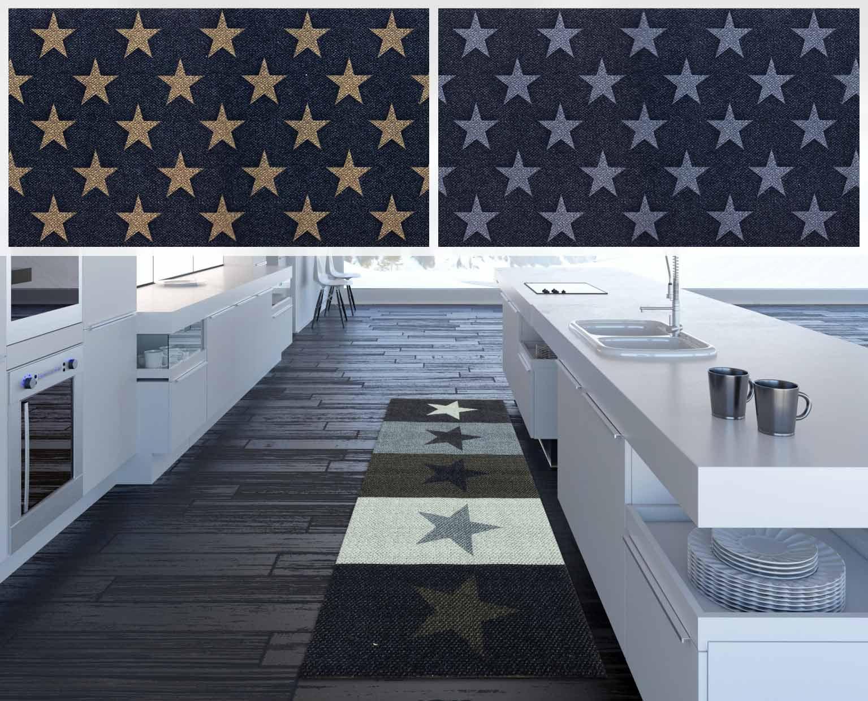 Kitchen Runner Rugs Washable.Kitchen Runner Rug Carpet Mats Stars Starlet Washable