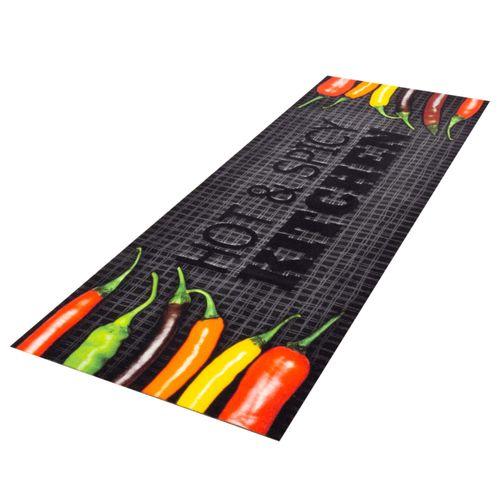 Kitchen Runner Rug Carpet Mats Hot & Spicy Chilli | washable online kaufen