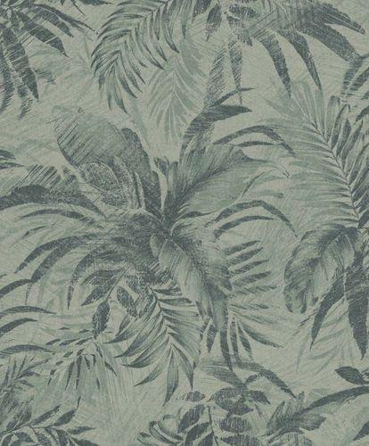 Non-Woven Wallpaper Floral turqoise Glitter Rasch Textil 229119 online kaufen