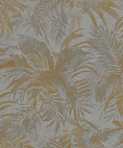 Non-Woven Wallpaper Floral gold Glitter Rasch Textil 229126