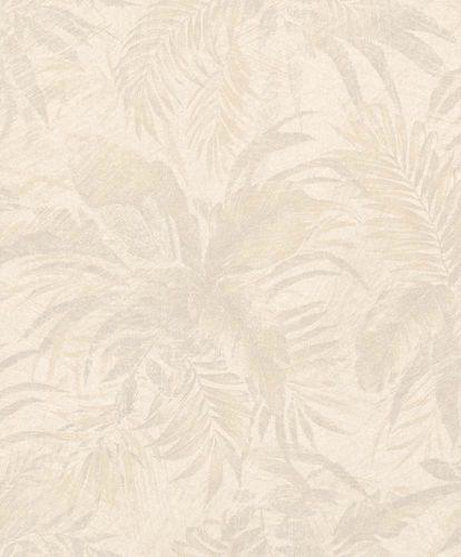 Vliestapete Dschungel creme grau Glitzer Rasch Textil 229140 online kaufen