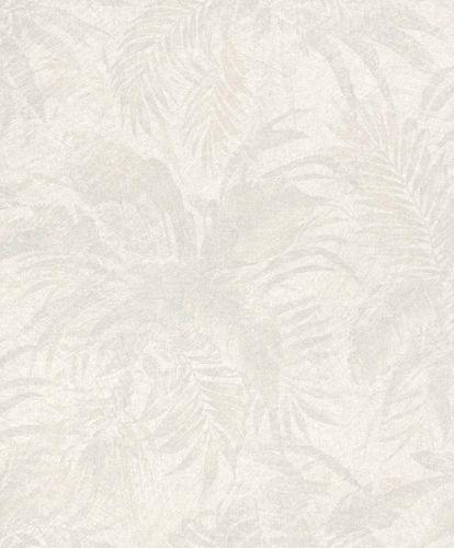 Vliestapete Dschungel grauweiß grau Glitzer 229157