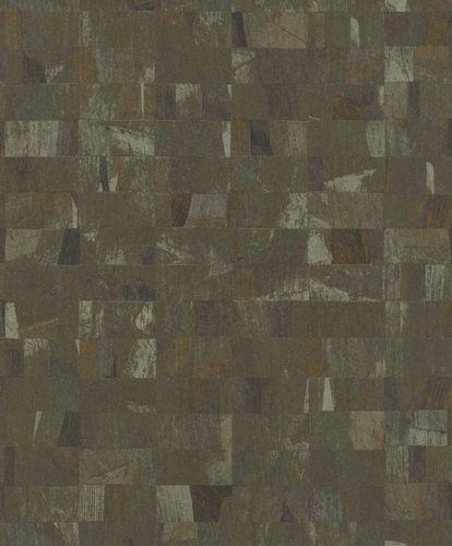 Non-Woven Wallpaper Blocks green Glossy Rasch Textil 229331 online kaufen