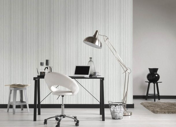 Wallpaper wooden stripes grey white AS Creation 36333-1 online kaufen