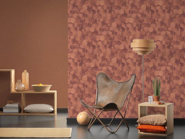 Wallpaper stone design red brown AS Creation 36373-5 online kaufen