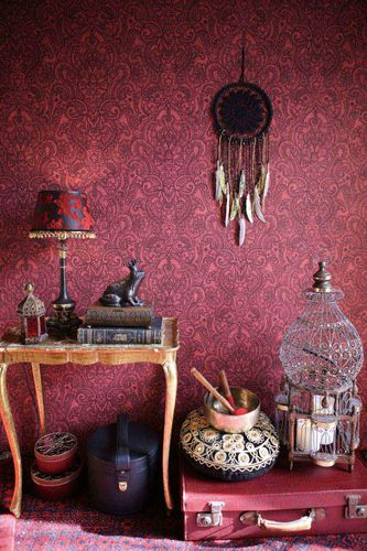 Wallpaper boho henna red AS Creation 36458-4 online kaufen