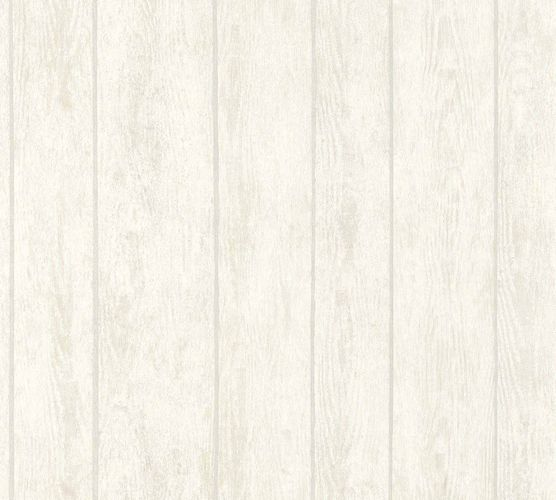 Wallpaper wooden board cream beige AS Creation 36460-2