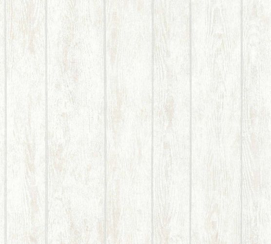 Wallpaper wooden board white grey AS Creation 36460-3 online kaufen