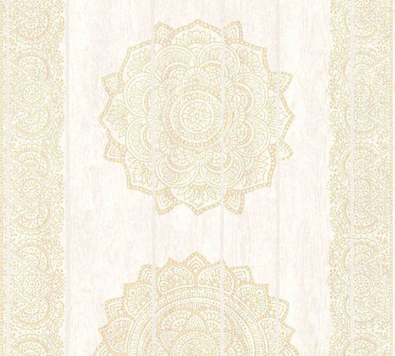 Wallpaper boho stripes cream beige AS Creation 36462-2 online kaufen