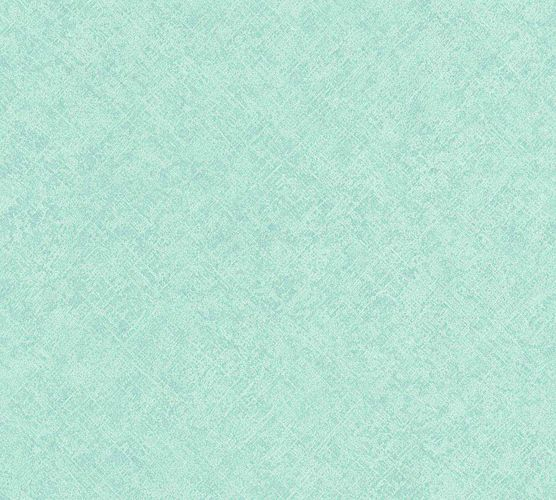 Wallpaper textured design turquoise green AS Creation 36464-6
