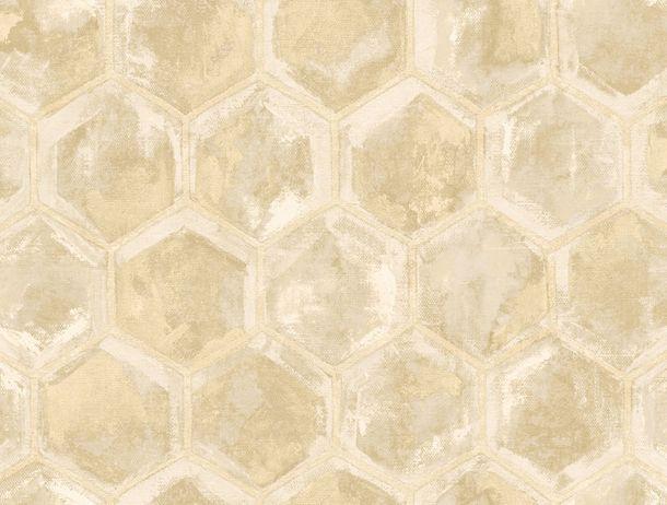 Non-Woven Wallpaper Combs cream Glossy Rasch Textil 107600 online kaufen