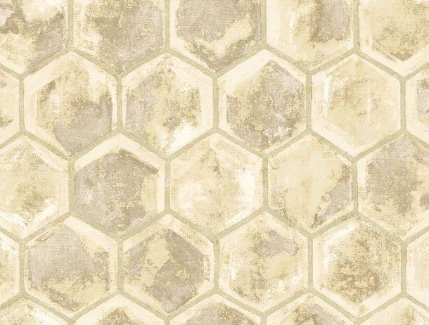 Non-Woven Wallpaper Combs beige Glossy Rasch Textil 107603 online kaufen