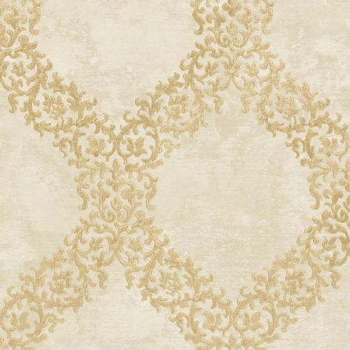 Non-woven Wallpaper Ornament beige World Wide Walls 109842 online kaufen