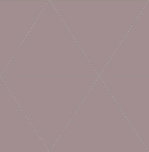 Wallpaper triangles graphic violet metallic 024227 online kaufen