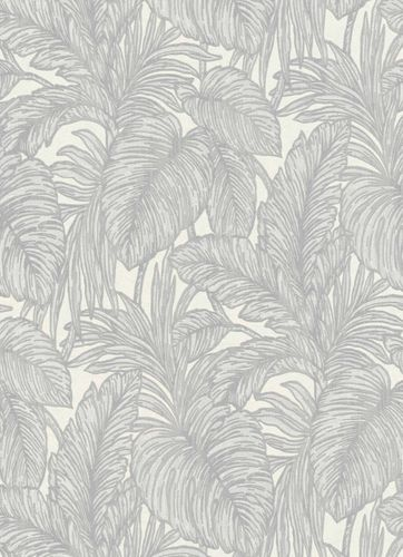 Wallpaper jungle leaf light grey cream Erismann 5410-31 online kaufen