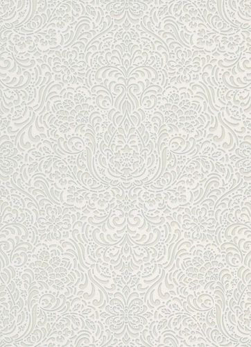 Wallpaper ornament grey cream gloss Erismann 5413-01 online kaufen