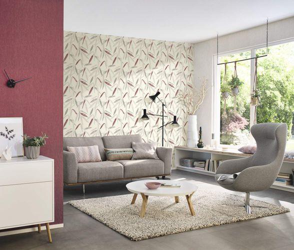 Vliestapete Meliert Design rot Rasch 402384 online kaufen