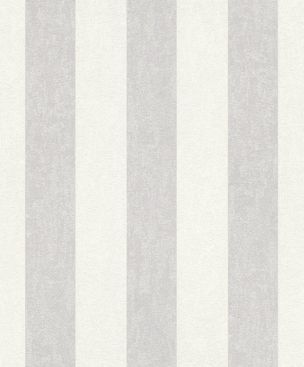 Vliestapete blockstreifen grau wei rasch 402919 - Wandbilder grau weiss ...